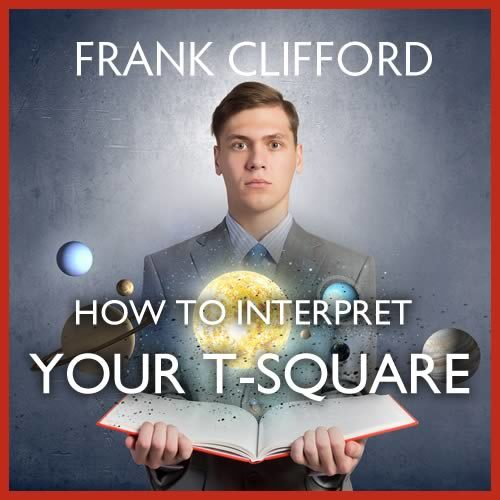 Interpret your t-square with astrology