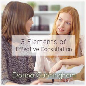 3 Elements of Effective Consultation