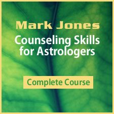 Counseling Skills for Astrologers Online Course
