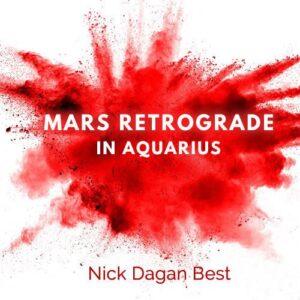 Mars Retrograde in Aquarius