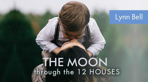Moon through the 12 houses