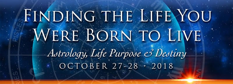 Virtual astrology summit exploring life purpose and destiny.