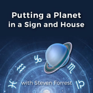 Putting a planet in a sign and house