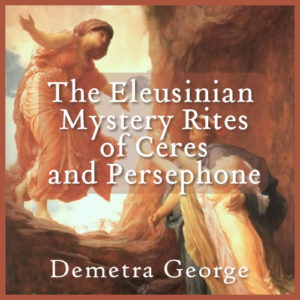 Eleusinian Mystery Rites