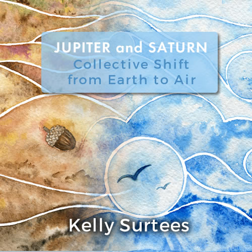 Jupiter Saturn Earth Air