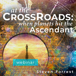 At The Crossroads – When Planets Hit The Ascendant