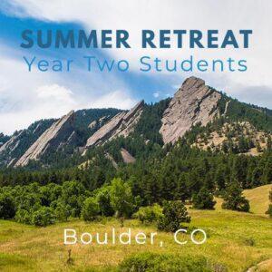 Year Two retreat Boulder