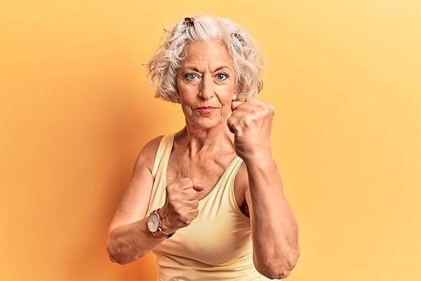 elder woman martial arts
